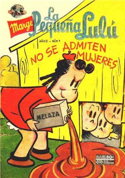 Cover for La Pequeña Lulú (Editorial Novaro, 1951 series) #7