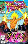 Cover for The New Mutants (Marvel, 1983 series) #12 [Direct]