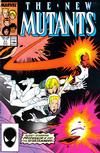 Cover for The New Mutants (Marvel, 1983 series) #51 [Direct]