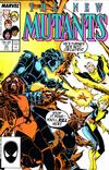 Cover for The New Mutants (Marvel, 1983 series) #53 [Direct]