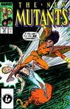 Cover for The New Mutants (Marvel, 1983 series) #55 [Direct]
