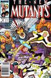 Cover for The New Mutants (Marvel, 1983 series) #57 [Newsstand]