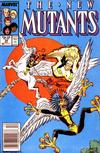 Cover for The New Mutants (Marvel, 1983 series) #58 [Newsstand]
