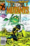 Cover for The New Mutants (Marvel, 1983 series) #60 [Newsstand]