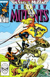 Cover for The New Mutants (Marvel, 1983 series) #61 [Direct]