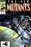Cover for The New Mutants (Marvel, 1983 series) #63 [Direct]