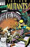 Cover for The New Mutants (Marvel, 1983 series) #70 [Direct]