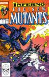 Cover for The New Mutants (Marvel, 1983 series) #71 [Direct]