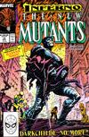 Cover for The New Mutants (Marvel, 1983 series) #73 [Direct]