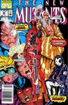 Cover Thumbnail for The New Mutants (1983 series) #98 [newsstand]