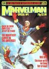 Cover for Marvelman Special (Quality Communications, 1984 series) #1