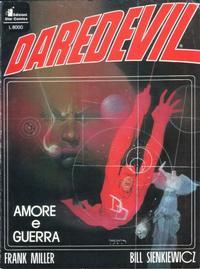 Cover Thumbnail for Devil: Amore e Guerra (Edizioni Star Comics, 1989 series)
