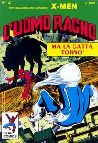 Cover Thumbnail for L'Uomo Ragno (Edizioni Star Comics, 1987 series) #12