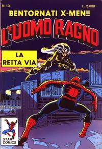 Cover Thumbnail for L'Uomo Ragno (Edizioni Star Comics, 1987 series) #13