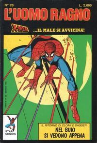 Cover Thumbnail for L' Uomo Ragno (Edizioni Star Comics, 1987 series) #20