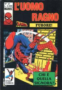 Cover Thumbnail for L' Uomo Ragno (Edizioni Star Comics, 1987 series) #21