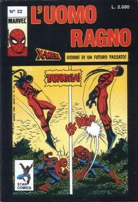 Cover Thumbnail for L'Uomo Ragno (Edizioni Star Comics, 1987 series) #22
