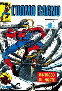 Cover Thumbnail for L'Uomo Ragno (Edizioni Star Comics, 1987 series) #23