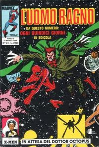 Cover Thumbnail for L' Uomo Ragno (Edizioni Star Comics, 1987 series) #24