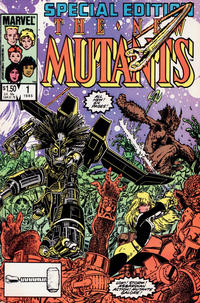 Cover Thumbnail for New Mutants Special Edition (Marvel, 1985 series) #1 [Direct]