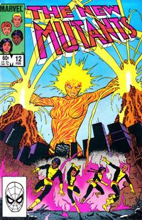 Cover Thumbnail for The New Mutants (Marvel, 1983 series) #12 [Direct Edition]