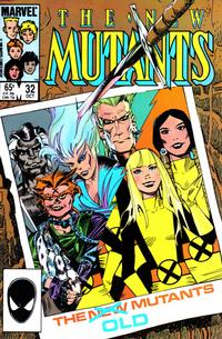 Cover Thumbnail for The New Mutants (Marvel, 1983 series) #32