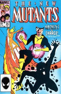Cover Thumbnail for The New Mutants (Marvel, 1983 series) #35