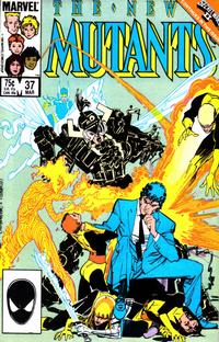 Cover Thumbnail for The New Mutants (Marvel, 1983 series) #37 [direct]