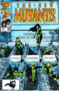 Cover Thumbnail for The New Mutants (Marvel, 1983 series) #38 [direct]