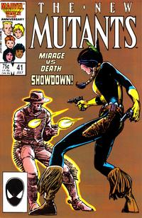 Cover Thumbnail for The New Mutants (Marvel, 1983 series) #41