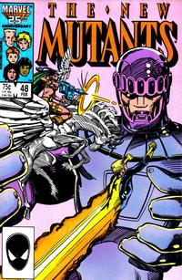 Cover Thumbnail for The New Mutants (Marvel, 1983 series) #48 [Direct Edition]