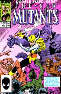 Cover Thumbnail for The New Mutants (Marvel, 1983 series) #50 [Direct Edition]