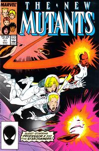 Cover Thumbnail for The New Mutants (Marvel, 1983 series) #51 [Direct Edition]