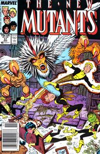 Cover Thumbnail for The New Mutants (Marvel, 1983 series) #57
