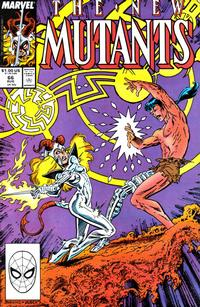 Cover Thumbnail for The New Mutants (Marvel, 1983 series) #66 [Direct Edition]