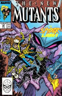 Cover Thumbnail for The New Mutants (Marvel, 1983 series) #69 [Direct Edition]