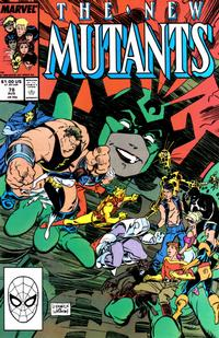 Cover Thumbnail for The New Mutants (Marvel, 1983 series) #78