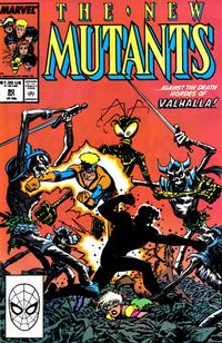 Cover Thumbnail for The New Mutants (Marvel, 1983 series) #80