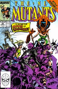 Cover Thumbnail for The New Mutants (Marvel, 1983 series) #84