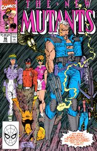 Cover Thumbnail for The New Mutants (Marvel, 1983 series) #90 [direct]