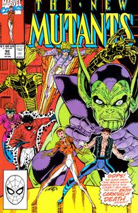 Cover Thumbnail for The New Mutants (Marvel, 1983 series) #92