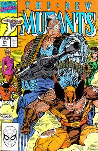 Cover Thumbnail for The New Mutants (Marvel, 1983 series) #94