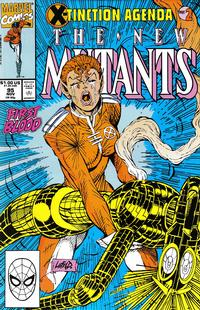 Cover Thumbnail for The New Mutants (Marvel, 1983 series) #95