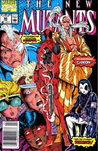 Cover Thumbnail for The New Mutants (Marvel, 1983 series) #98 [newsstand]