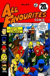 Cover Thumbnail for All Favourites Comic (K. G. Murray, 1960 series) #93