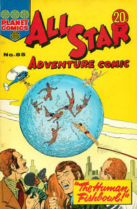 Cover Thumbnail for All Star Adventure Comic (K. G. Murray, 1959 series) #85
