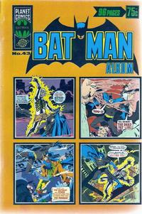 Cover Thumbnail for Batman Album (K. G. Murray, 1976 series) #43