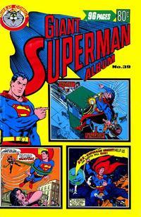 Cover Thumbnail for Giant Superman Album (K. G. Murray, 1963 ? series) #39