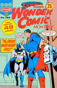 Cover Thumbnail for Superman Presents Wonder Comic Monthly (K. G. Murray, 1965 ? series) #126