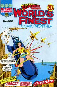 Cover Thumbnail for Superman Presents World's Finest Comic Monthly (K. G. Murray, 1965 series) #102